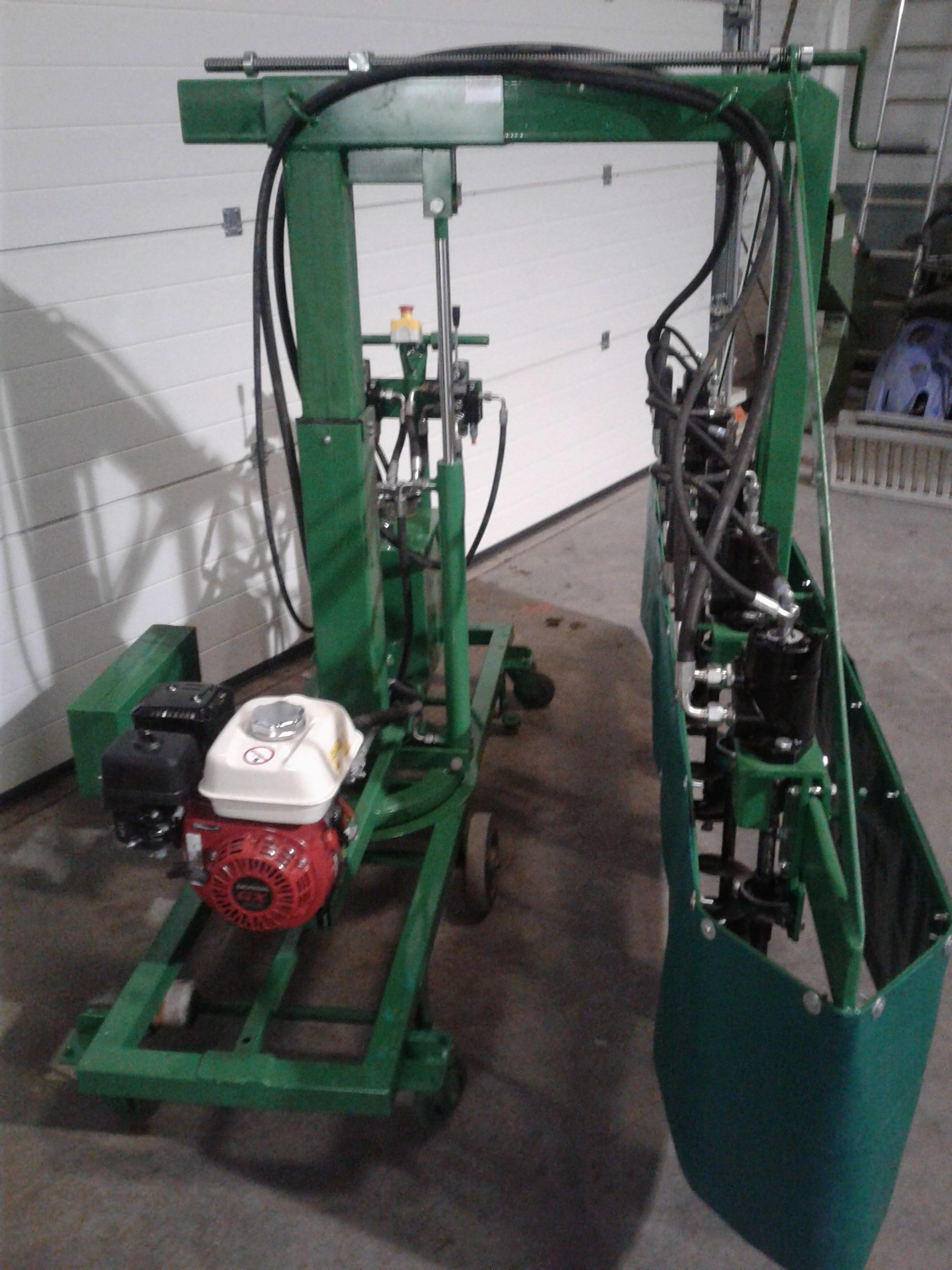 plantgaten boor machine